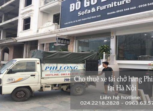 Dịch vụ cho thuê xe tải tại phố Tư Đình
