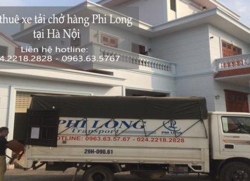 Dịch vụ cho thuê xe tải tại phố Đặng Tất
