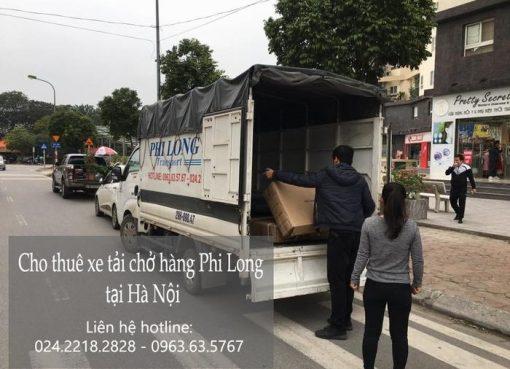 Dịch vụ cho thuê xe tải tại phố Đinh Lễ