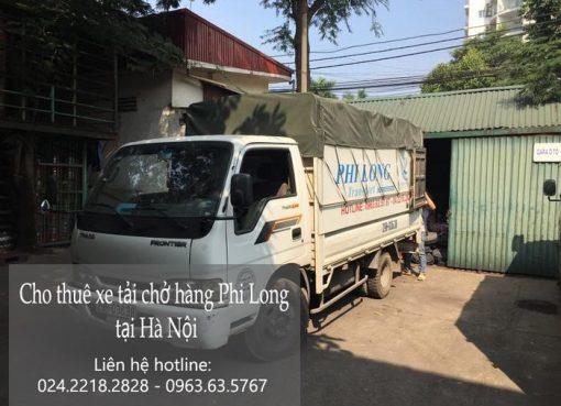 Dịch vụ cho thuê xe tải tại phố Hàng Chai