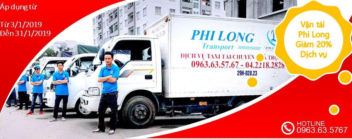Dịch vụ cho thuê xe tải tại phố Nam Tràng