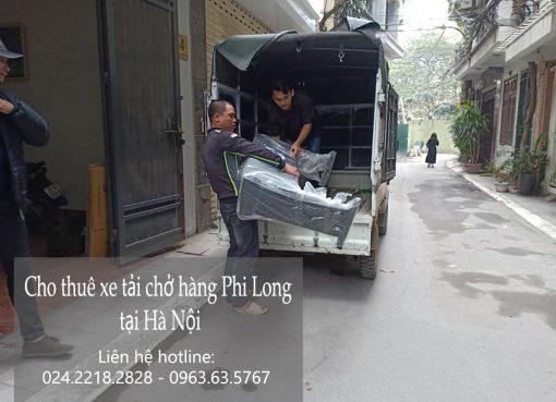 Dịch vụ cho thuê xe tải tại phố Vũ Hữu