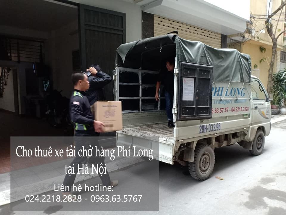 Dịch vụ cho thuê xe tải giá rẻ tại phố Kim Hoa