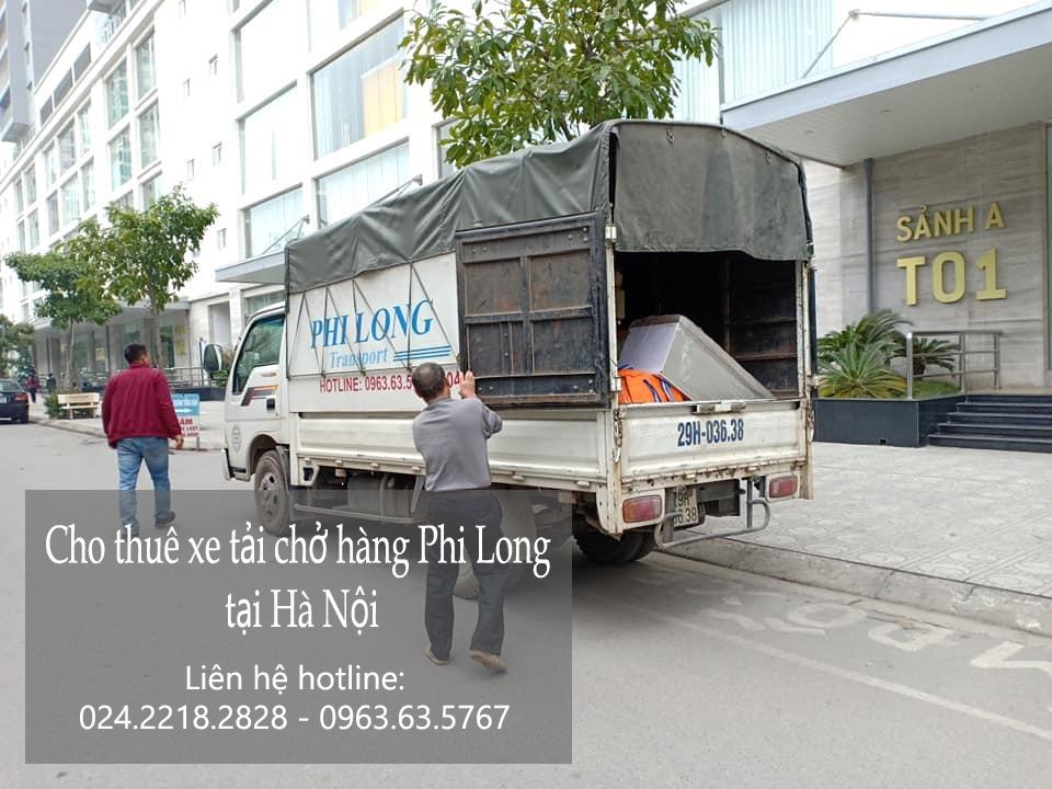 Dịch vụ cho thuê xe tải tại phố Lê Thanh Nghị