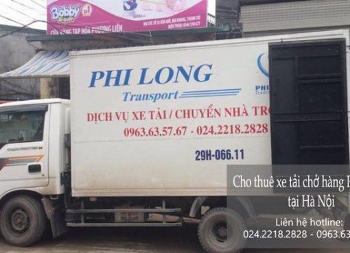 Dịch vụ cho thuê xe tải tại phố Quỳnh Mai