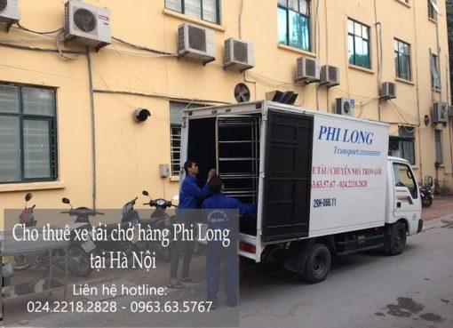 Dịch vụ cho thuê xe tải tại phố Đoàn Khuê