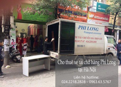 Dịch vụ cho thuê xe tải tại đường Nguyễn Phong Sắc