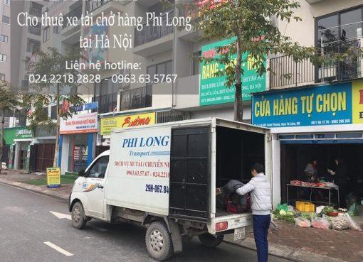 Dịch vụ cho thuê xe tải tại phố Dương Hà