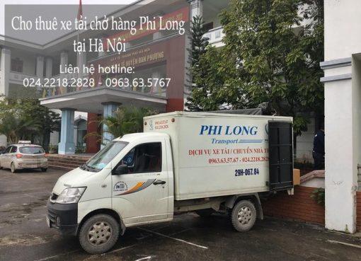 Dịch vụ cho thuê xe tải tại đường Hà Huy Tập