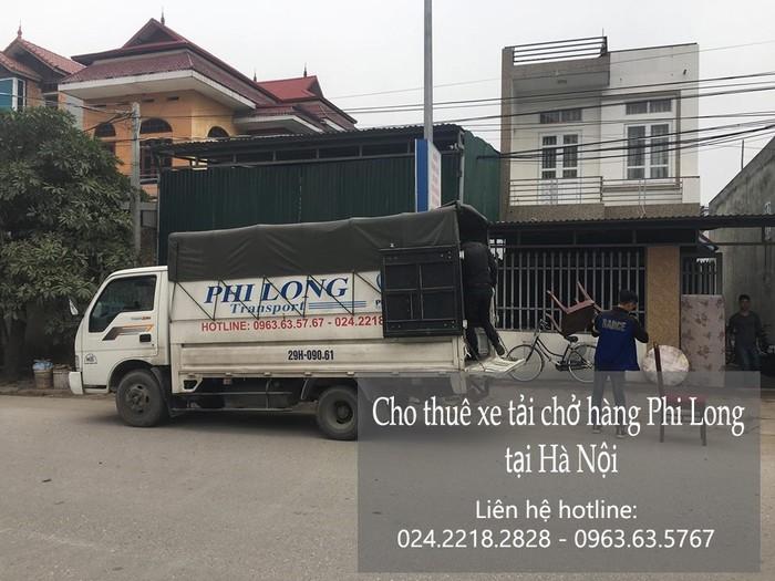 Dịch vụ chở thuê xe tải tại phố Quỳnh Lôi