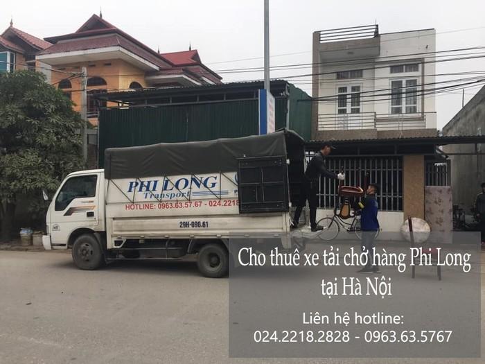 Dịch vụ cho thuê xe tải tại phố Hồng Tiến