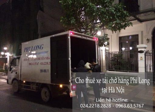 Dịch vụ cho thuê xe tải tại phố Hoàng Thế Thiện