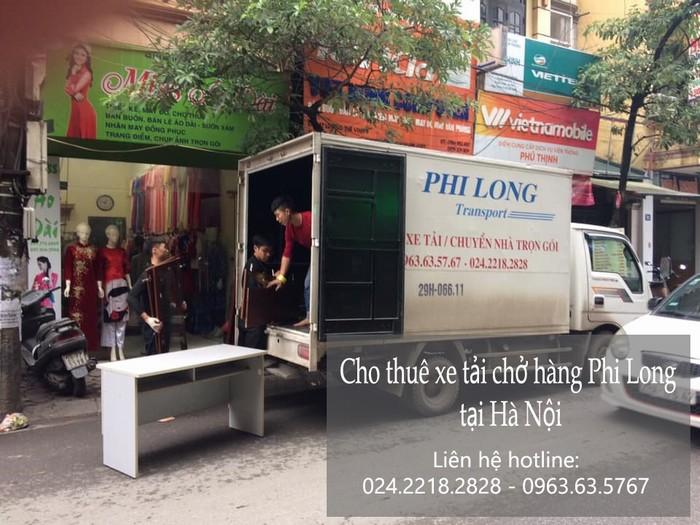 Dịch vụ cho thuê xe tải phố Ngô Gia Khảm