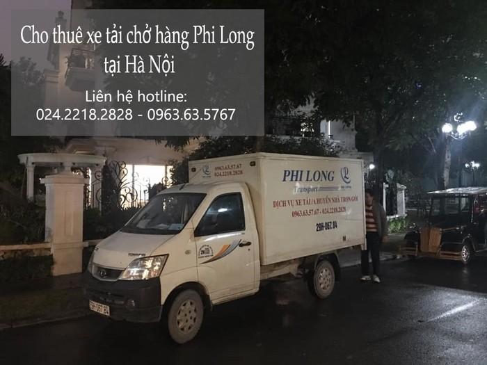 Cho thuê xe tải tại phố Thiên Đức
