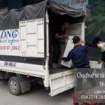 Dịch vụ cho thuê xe tải tại phố Nguyễn Lam