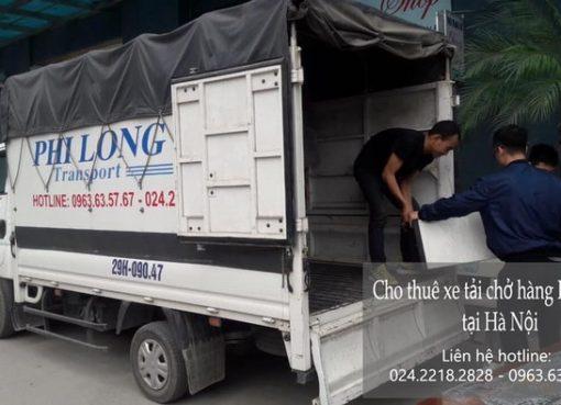 Dịch vụ cho thuê xe tải tại phố Nguyễn Khả Trạc