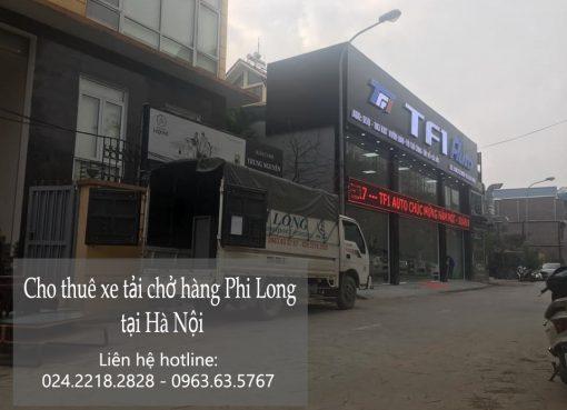 Dịch vụ cho thuê xe tải tại phố Bảo Khánh