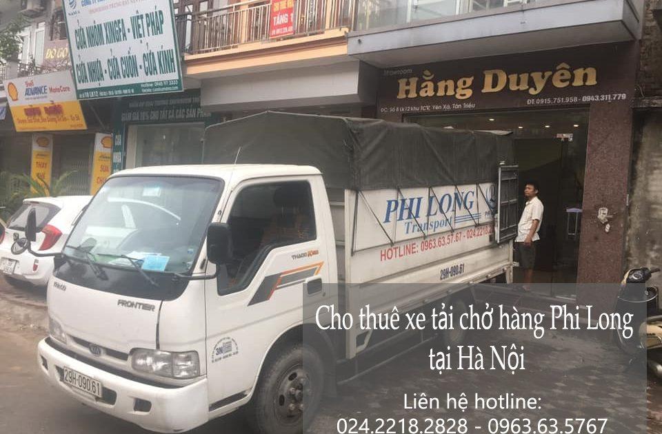 Dịch vụ cho thuê xe tải giá rẻ tại đường Hoàng Tăng Bí