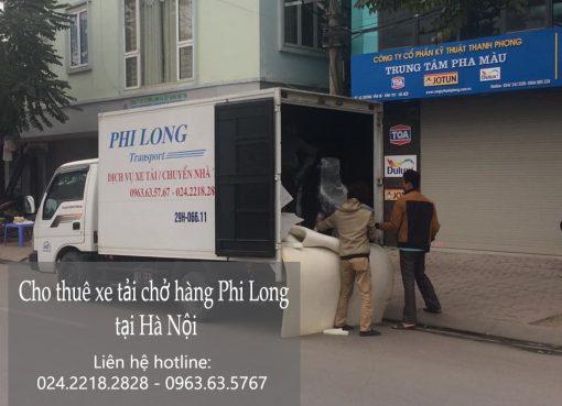Cho thuê xe tải tại phố Cao Thắng