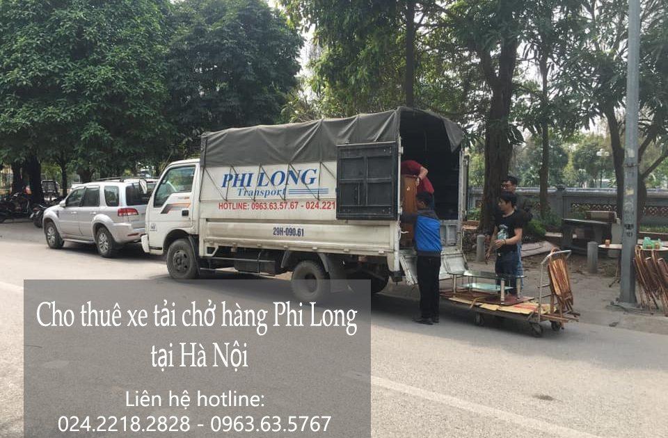 Dịch vụ cho thuê xe tải tại phố Vọng Hà