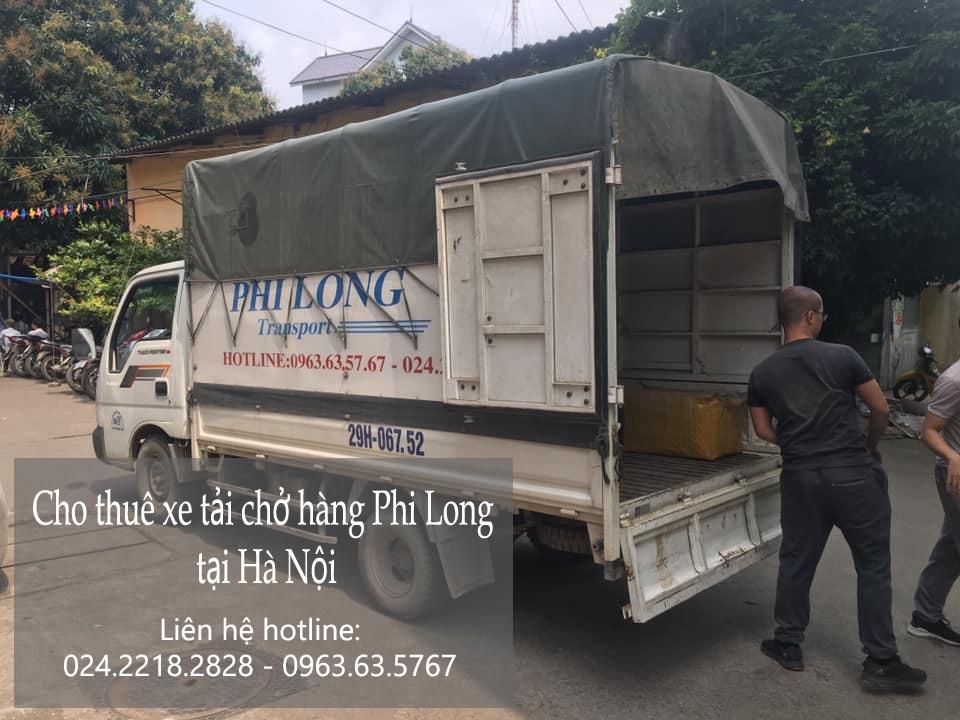 Dịch vụ cho thuê xe tải tại phố Hoài Thanh