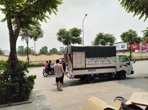 Phi Long cho thuê xe tải tại phố Vân Đồn