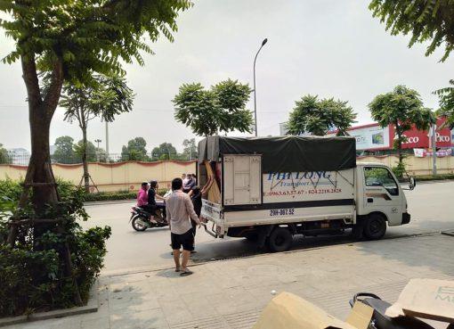 Dịch vụ cho thuê xe tải Phi Long tại phố Đại Linh