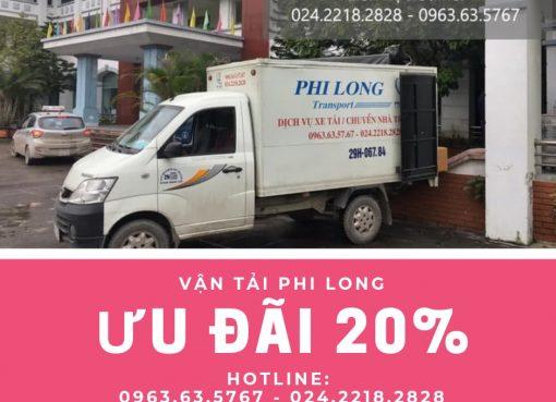 Dịch vụ cho thuê xe tải tại phố Yên Bái