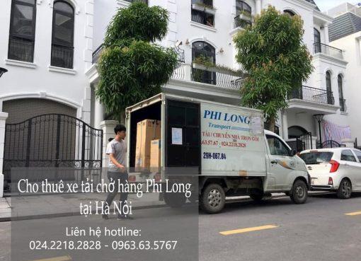 Dịch vụ cho thuê xe tải tại phố Phan Bá Vành
