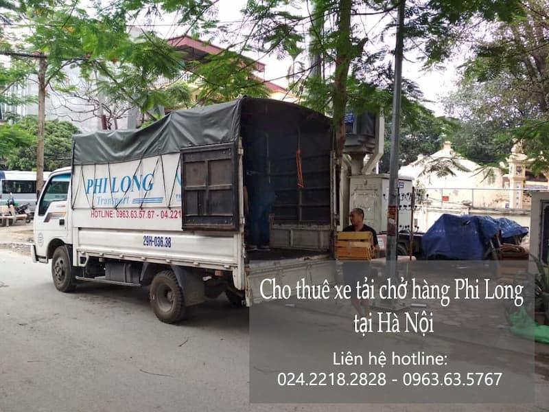 Dịch vụ cho thuê xe tải giá rẻ tại đường Vọng Đức