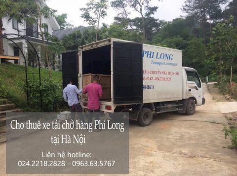Dịch vụ cho thuê xe tải tại phố Nguyễn Đình Tứ