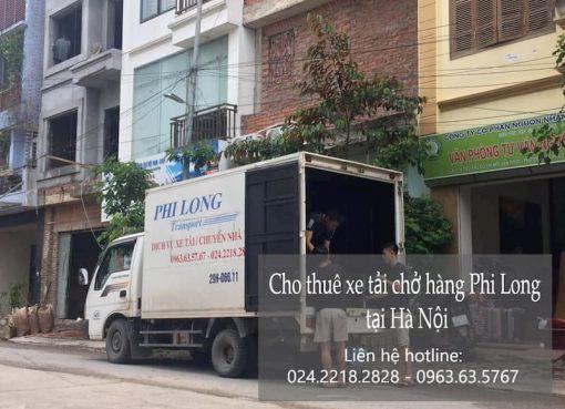 Dịch vụ cho thuê xe tải tại phố Trung Kiên