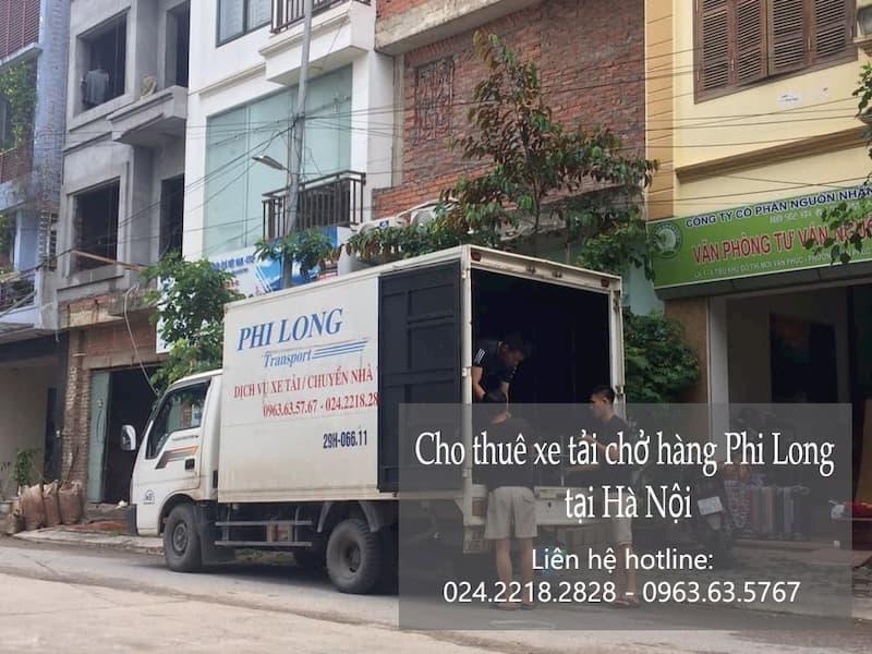 Dịch vụ cho thuê xe tải tại phố Cầu Cốc
