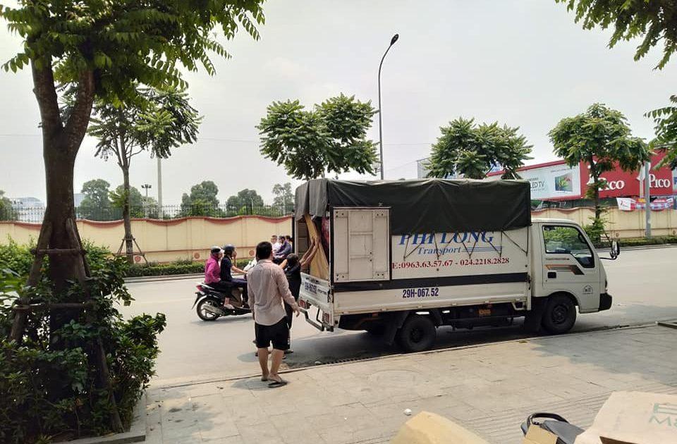 Dịch vụ cho thuê taxi tải Phi Long tại phố Đức Giang