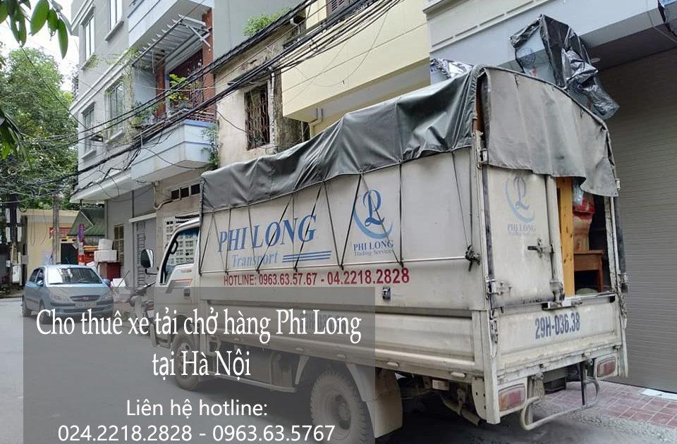 Dịch vụ cho thuê xe tải tại phố Phú Diễn 2019