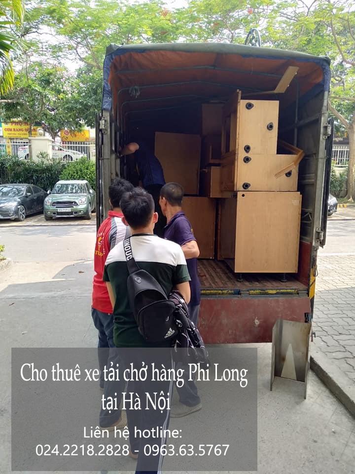 Dịch vụ cho thuê xe tải Phi Long tại phố Nguyễn Ngọc Nại
