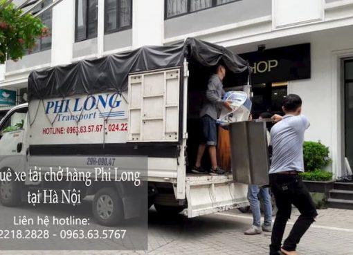 Dịch vụ cho thuê xe tải Phi Long tại phố Cầu Bây