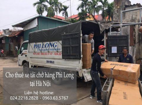 Dịch vụ cho thuê xe tải Phi Long ở phố Đức Giang