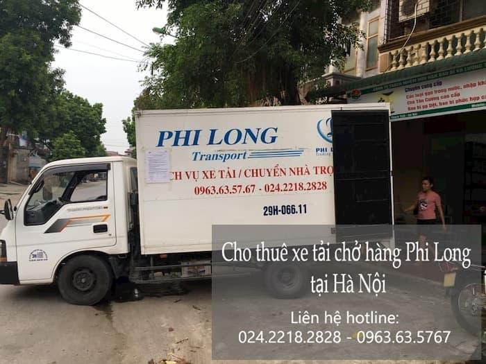 Dịch vụ cho thuê xe tải tại phố Đặng Trần Côn