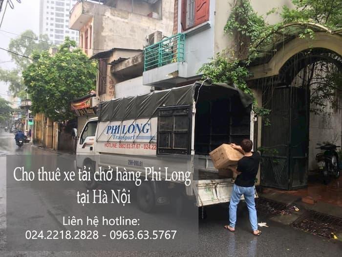 Dịch vụ cho thuê xe tại phố Hồng Quang