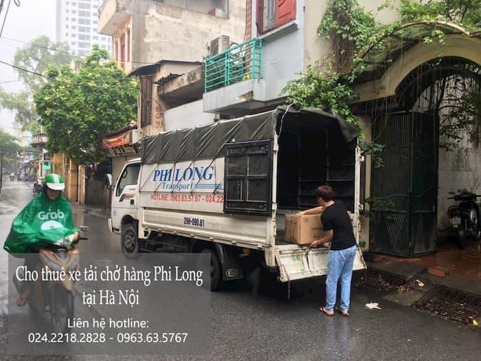Dịch vụ cho thuê xe tải Phi Long tại phố Đặng Xuân Bảng