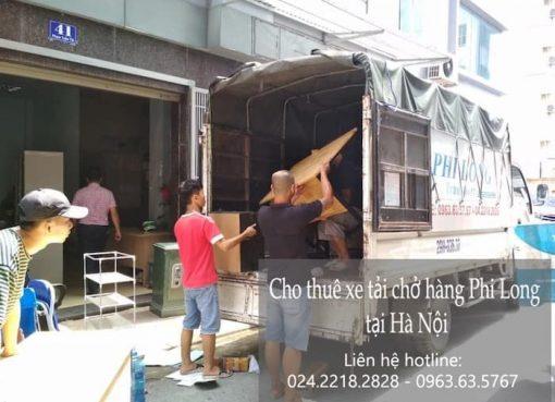 Dịch vụ cho thuê xe tải tại phố Nguyễn Thực