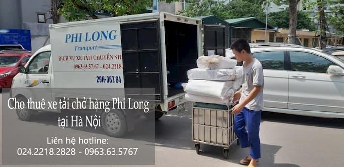 Dịch vụ cho thuê xe tải Phi Long tại phường Hàng Bông