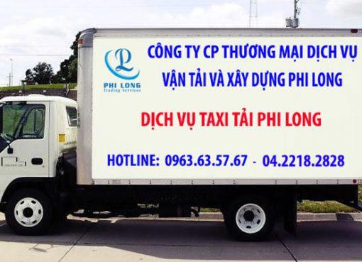 Cho thuê xe tải giá rẻ Phi Long tại phố Kim Quan