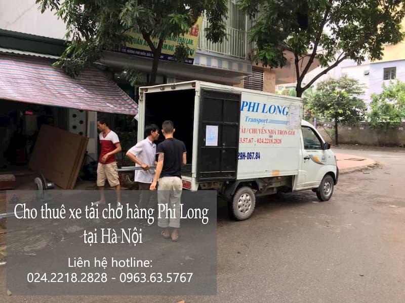 Taxi tải giá rẻ Phi Long tại phố Bùi Xuân Phái
