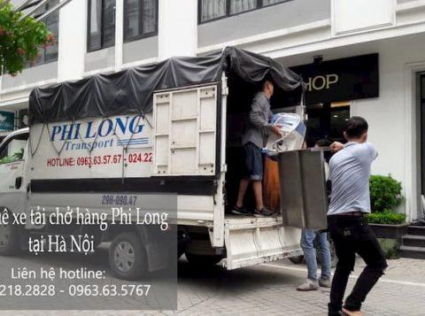 Taxi tải giá rẻ Phi Long tại phố Đức Giang