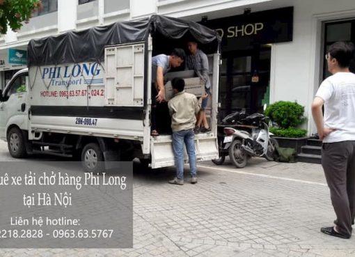 Dịch vụ cho thuê xe tải Phi Long tại phường Cầu Dền