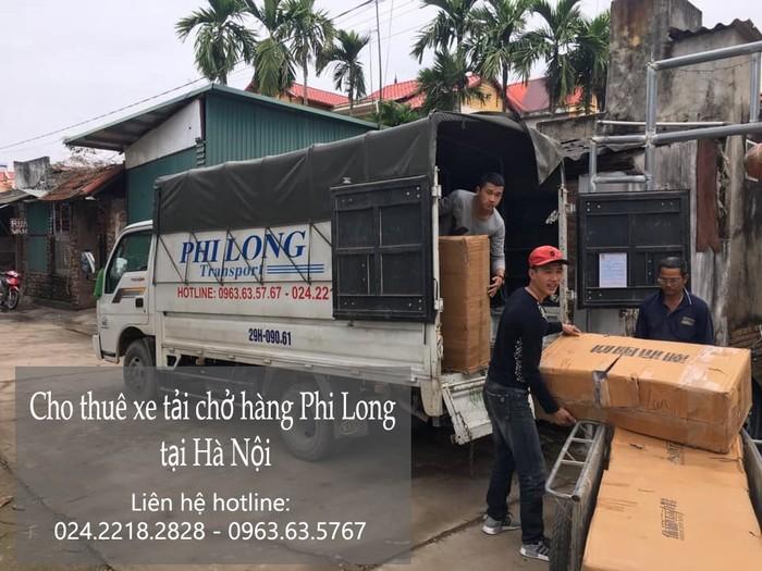 Cho thuê xe tải chuyên nghiệp Phi Long tại phố Châu Văn Liêm