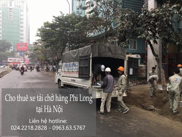 Cho thuê xe tải giá rẻ Phi Long tại phố Cầu Diễn
