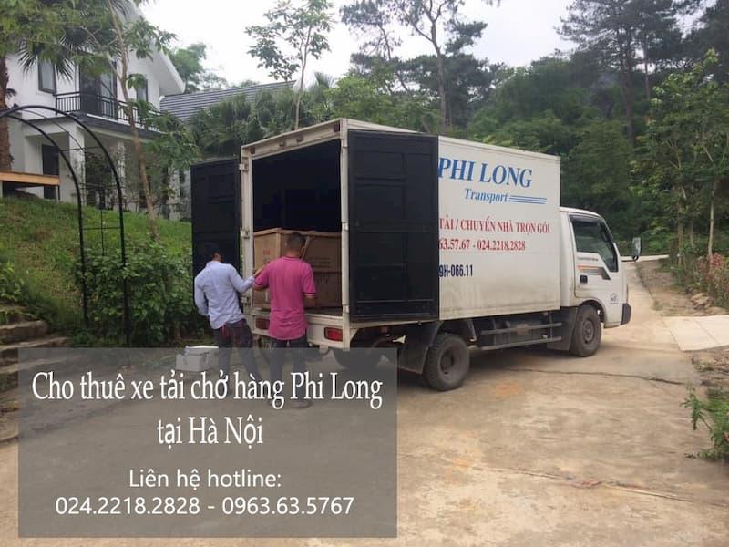 Dịch vụ taxi tải chuyên nghiệp Phi Long tại phố Đỗ Xuân Hợp